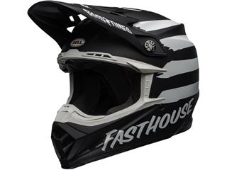 BELL Moto-9 Mips Helmet Fasthouse Signia Matte Black/Chrome Size XL