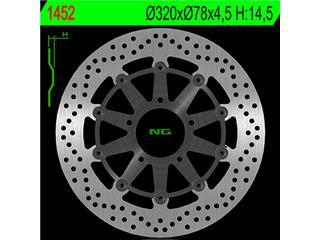 Disque de frein NG 1452 rond semi-flottant - 3501255