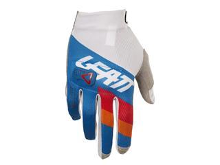 LEATT GPX 3.5 Lite Gloves Blue/White Size M/EU8/US9 - 434184M