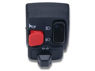 LEFT BLACK SIGNAL SWITCH FOR BOOSTER, BW'S, SENDA '00, HORN, INDICATORS, LIGHT - 874218