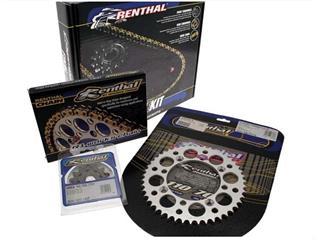 Kit chaîne RENTHAL 420 type R1 13/49 (couronne Ultralight™ anti-boue) Kawasaki KX80 - 482337