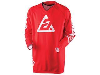 Maillot ANSWER Elite Solid rouge taille XXL