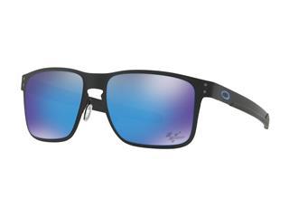 OAKLEY Holbrook Metal Moto GP Sunglasses Matte Black PRIZM Sapphire Lens