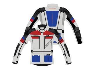 Chaqueta Textil (Hombre) RST ADVENTURE-X Azul/Rojo , Talla 50/S - 814000530768