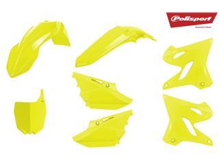 Kit plastique POLISPORT jaune fluo Yamaha YZ125/250 - 790647FY
