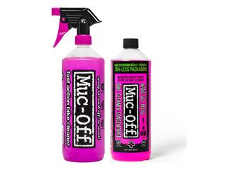 Twin Pack MUC-OFF Bike Cleaner 1L + Concentré de recharge 1L