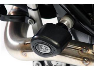 Tampons de protection R&G RACING Aero noir KTM 690 SMC/Enduro