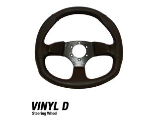 DRAGONFIRE Vinyl D Steering Wheel