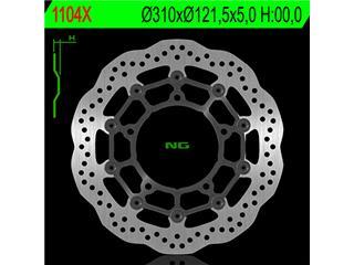 Disque de frein NG 1104X pétale flottant - 3501104X