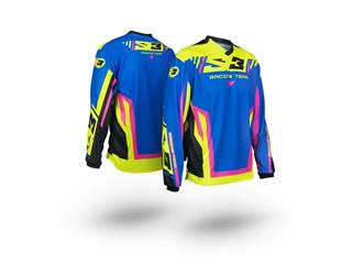 S3 Racing Team Jersey Pink/Blue Size L