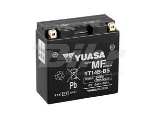 Batería Yuasa YT14B-BS Combipack (con electrolito)