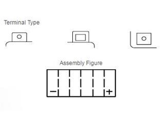 Batterie YUASA YTX24HL-BS sans entretien livrée avec pack acide - a4cb2860-48f9-4b81-9f2f-265f4211a6cd