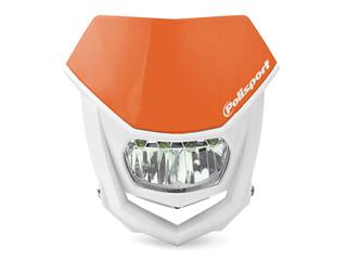 Plaque phare POLISPORT Halo LED orange/blanc - 786671KT