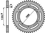 Kettenrad Stahl 43 Zähne PBR 600 PEGASO