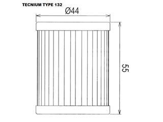 Filtre à huile TECNIUM type 132 - a5515715-90ab-484c-a609-52b866537899