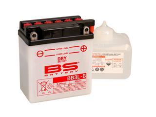 Batterie BS BATTERY BB3L-B  conventionnelle livrée avec pack acide