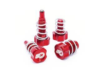 S3 Lever Adjuster Screw Red Braktek/AJP