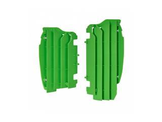 Cache radiateur POLISPORT vert Kawasaki KX250F - 784616GR