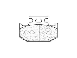 Plaquettes de frein CL BRAKES 2299RX3 métal fritté