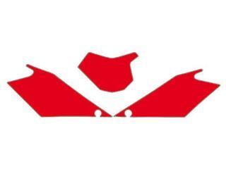 Fonds de plaque BLACKBIRD rouge Gas Gas EC - 7869056