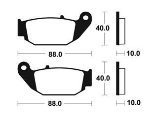 Plaquettes de frein TECNIUM MA415 organique - a65beb07-3626-484f-87c0-9647a4363bdb