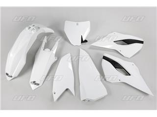 Kit plastiques UFO blanc Husqvarna TC250 - 78642110