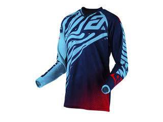 Maillot ANSWER Syncron Flow Astana/Indigo/Bright Red taille XL