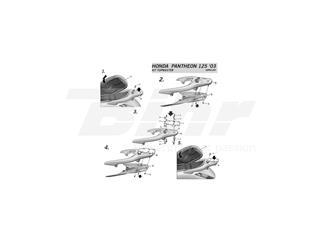 Fijaciones Top Honda PANTHEON 125-03