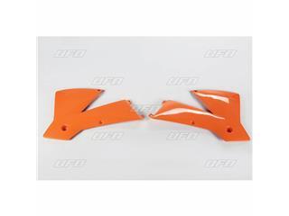 Ouïes de radiateur UFO orange KTM - 78534653
