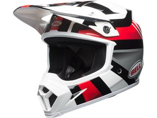 Casque BELL MX-9 MIPS Gloss White/Black/Red Marauder taille XXL - 7091740