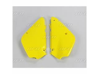 Plaques latérales UFO jaune Suzuki RM80/85 - 78327964