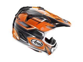 Casque ARAI MX-V Sly Orange taille XXL - a7d12582-00dc-49ba-846c-7494b2628964