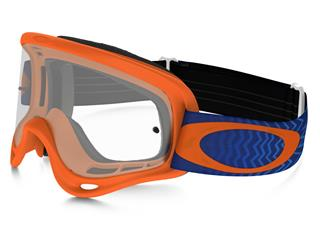 OAKLEY XS O Frame MX Goggle Shockwave Neon Orange Clear Lens