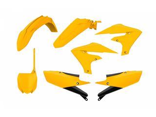 Kit plastique POLISPORT MX Vintage Edition jaune Yamaha YZ250F/450F - 4420012505