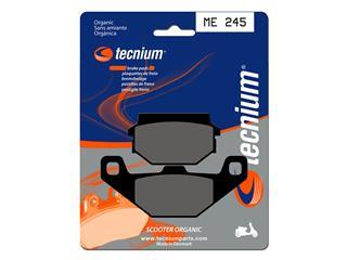 Plaquettes de frein TECNIUM ME245 organique - 3800753