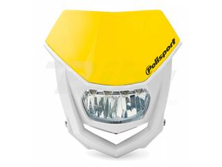 Porta-farol Halo LED homologado Polisport branco/amarelo 8667100003 - a8a40c15-1ed2-4ea0-8d68-aac70b01acc3