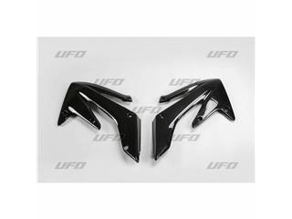 Ouïes de radiateur UFO noir Honda CRF250X/R