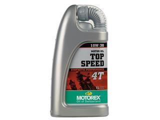 Huile moteur MOTOREX Top Speed 4T 10W30 synthétique 1L - 551653