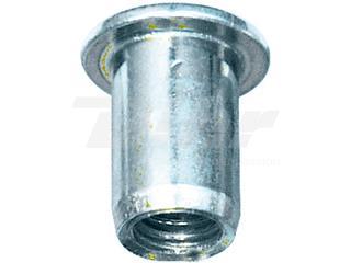 Tuerca remachables  lisa de acero M8 BIHR 20uds - 893256