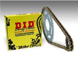 Kit chaîne D.I.D 428 type NZ 13/47 (couronne ultra-light) Suzuki RM85L - 484944