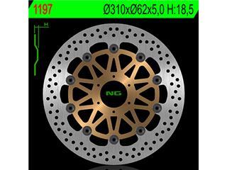 NG 1197 Brake Disc Round Floating Honda