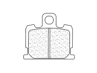 Plaquettes de frein CL BRAKES 2807S4 métal fritté - 272807S4