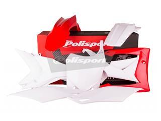 Kit plastique POLISPORT couleur origine Honda CRF250F/CRF450F - PS211ST19