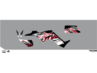 Kit déco KUTVEK Rotor noir Kymco Maxxer 300 - 78104601