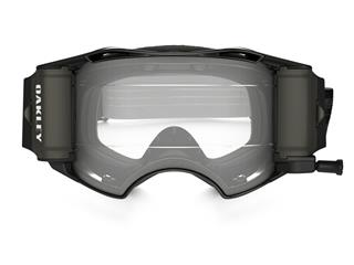 OAKLEY Airbrake MX Race-Ready Roll-Off Goggle Jet Black Speed Clear Lens - a9a82a30-13f7-4ce0-949a-abc9fad1693b