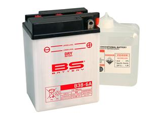 Batterie BS BATTERY B38-6A conventionnelle livrée avec pack acide - a9b05bef-a8da-449d-8e66-31c24a4d6c35