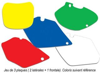 Fonds de plaque BLACKBIRD bleu Suzuki RM125/250 - 7833087