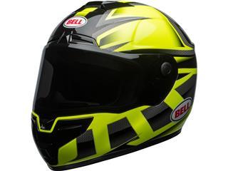 BELL SRT Helmet Gloss HI-VIZ Green/Black Predator Size XXL
