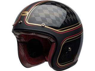 Capacete Bell Custom 500 Carbon RSD CHECKmate Preta/Dourada, Tamanho XXL - aa1ec7ba-673f-4d2b-89f2-00a5d9b4995d