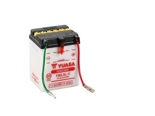 Batterie YUASA YB2.5L-C conventionnelle - 32YB25LC